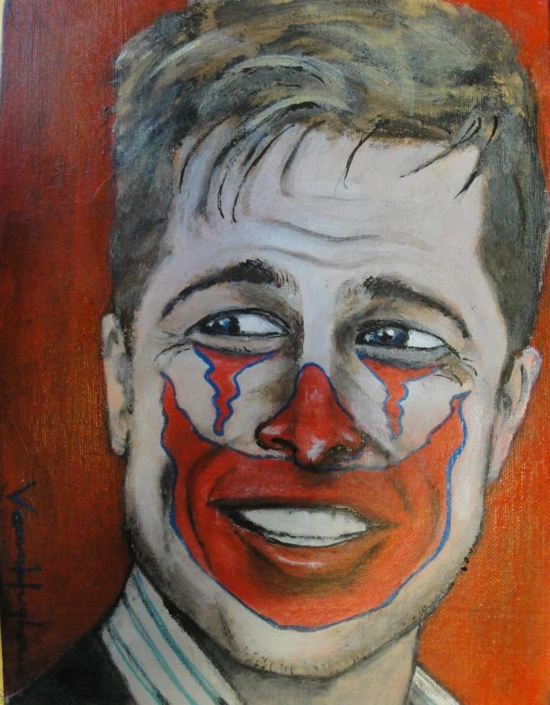 Brad Pitt by Vannagain